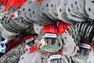 Lincoln Santa Run 2012