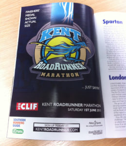 Bespoke Medal Featured in Running Magazine
