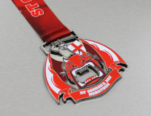 St. George's Day Bespoke Medal Great Feedback