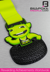 Silicone Medal Finish