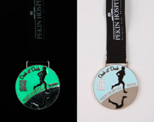 2013 August Medal of the Month - Dash at Dusk 5k