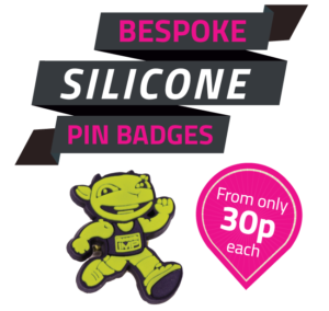 Bespoke Silicone Pin Badges