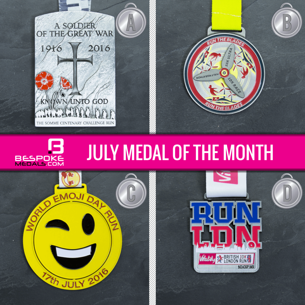 June 2016 Medal of the Month Competition