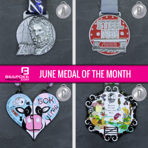June Medal of the Month Competition