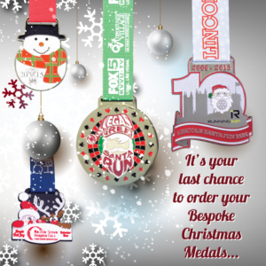 Last Chance To Order Your Bespoke Christmas Medals!