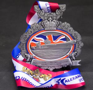 Bespoke Medals - Portsmouth Coastal Half Marathon 2017