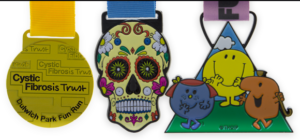 Charity Colour Spray Medals