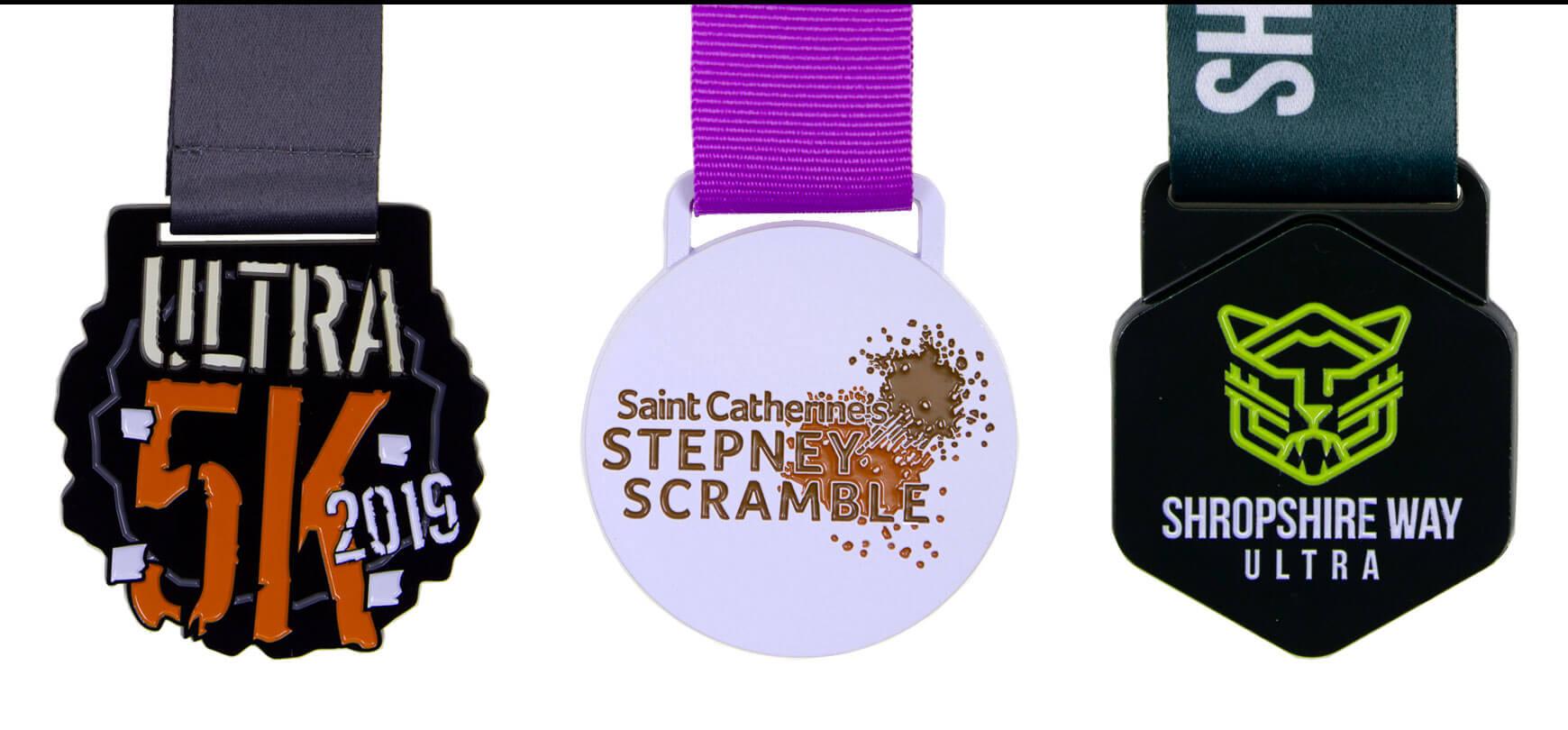 Create Unique Colour Spray Medals | Bespoke Medals - Bespoke