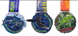 Enamelled Lined Up 7 - Run Jurassic Half Marathon, Run Jurassic Marathon, Run Jurassic Chaos