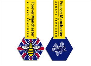 Free Medals Donated to Manchester Solidarity Run