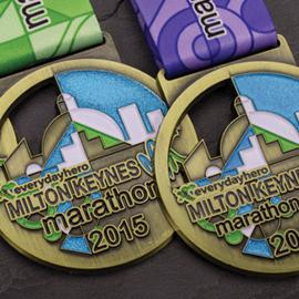 Milton Keynes Marathon 2015 Medals