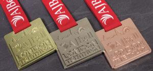 AJ Bell Triathlon Medals