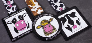 Bad Cow Bespoke Medals