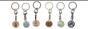 Personalised Trolley Coins