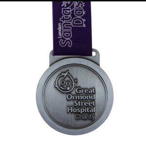 London Santa Dash - Great Ormond Street Hospital Charity