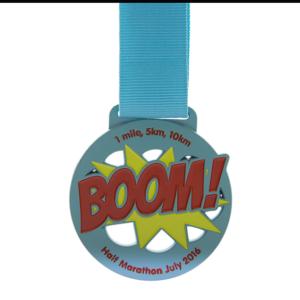BOOM! Half Marathon July 2016 - 1 mile, 5km, 10km
