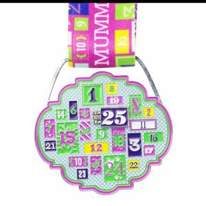 Virtual Runner UK - Run Mummy Run, 12 day Christmas Challenge