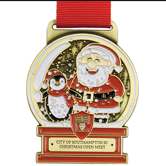 Christmas Running Medals.Santa Medals Our Most Popular Bespoke Medals Bespoke