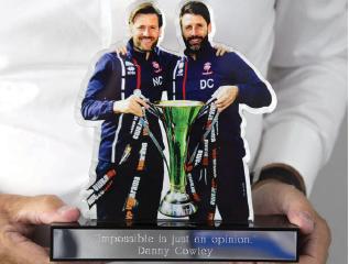 Bespoke Acrylic Trophy