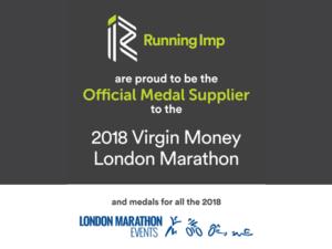 Official Medal Supplier London Marathon 2018