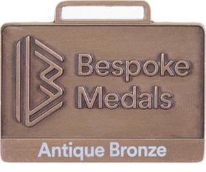 Antique Bronze Pin Badge Finish
