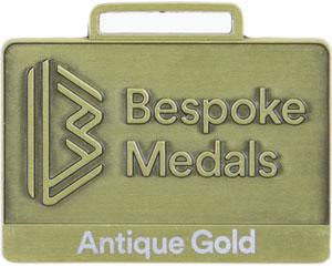 Antique Gold Pin Badge Finish