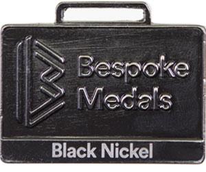 Black Nickel Pin Badge Finish