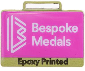 Epoxy Printed Pin Badge Finish