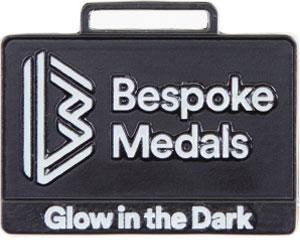 Glow in the Dark Pin Badge Finish