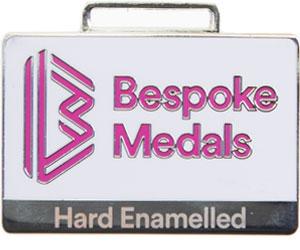 Hard Enamelled Pin Badge Finish