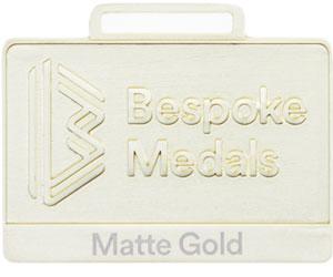 Mate Gold Pin Badge Finish