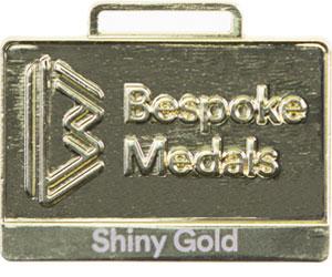 Shiny Fold Pin Badge Finish