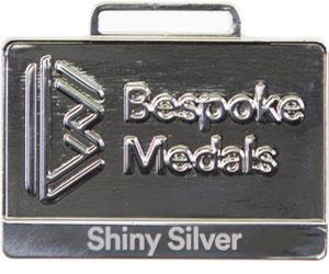 Shiny Silver Pin Badge Finish