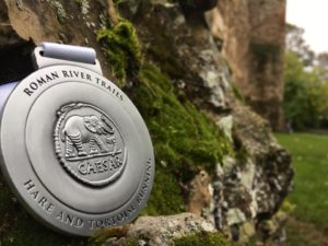Roman River Trails Medal - Bespoke Medals