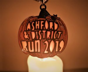 Ashford & District Run 2019 - Bespoke Medals