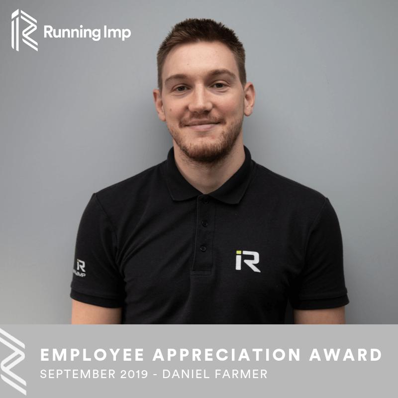 Employee Appreciation Award - Dan Farmer