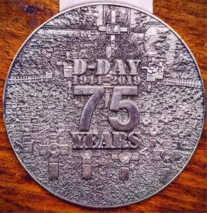 Gosport Half-Marathon Medal Back - Bespoke Medals