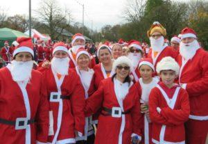 Jingle Jog 2019 - Derby & Burton Hospitals Charity - Running Imp