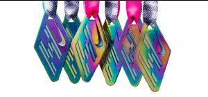 Rainbow Bespoke Medals 1