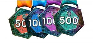 Bespoke Rainbow Medals 2
