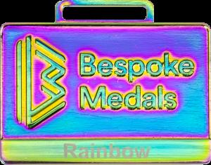 Rainbow Pin Badge Finish