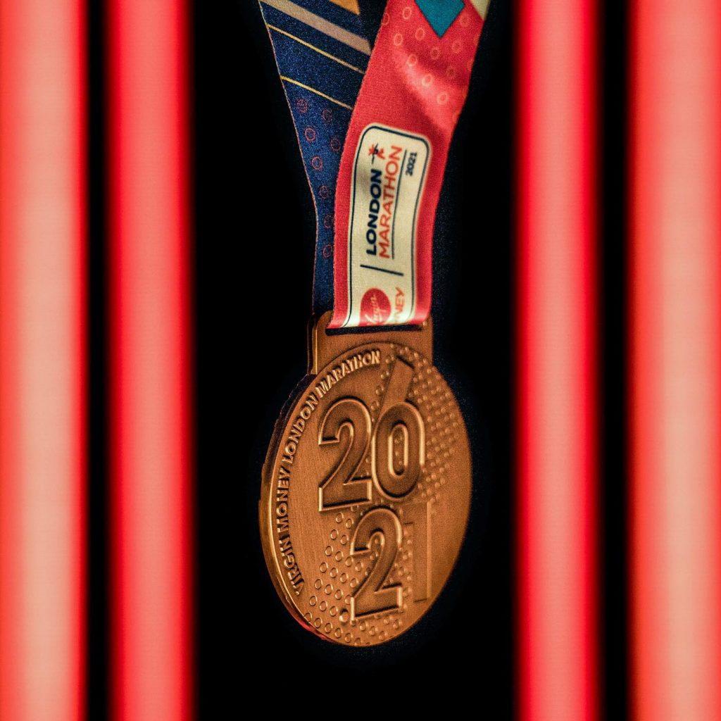 London Marathon medal reveal
