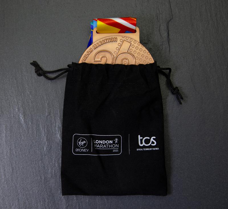 London marathon Medal Pouch